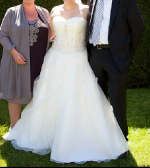 Stunning Jean Fox Wedding Dress